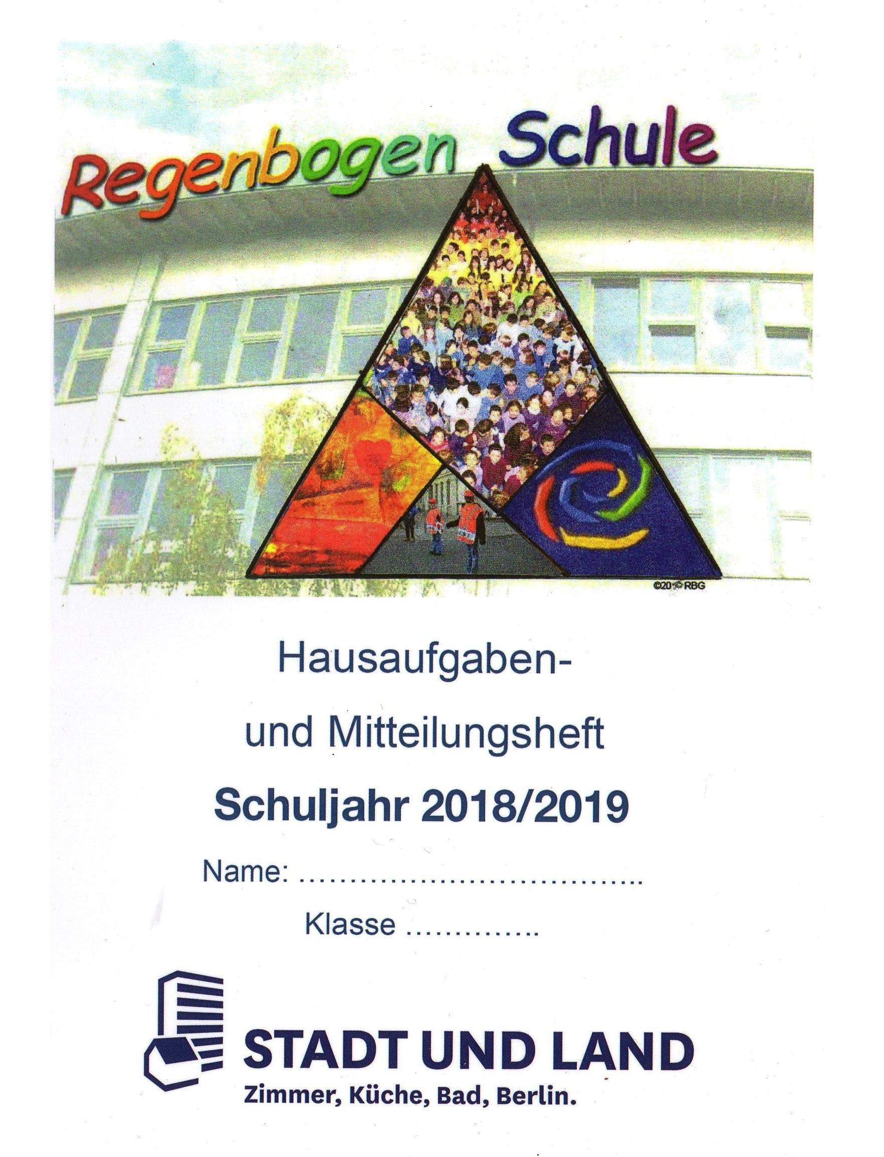 Schulplaner der Regenbogen Grundschule: Dein Hausaufgaben- und ...