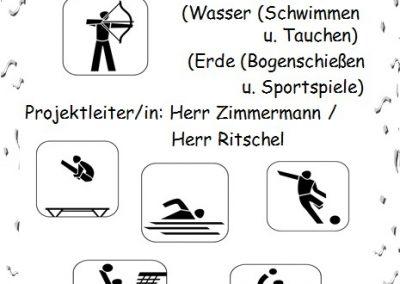 23 Sport in verschiedenen Elementen
