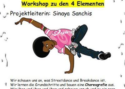 31 Streetdance-und Breakdance-Workshop