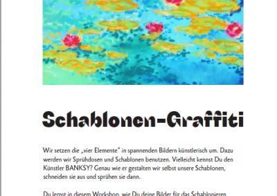 35 Schablonen-Graffiti
